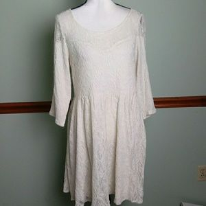 Free People size medium lace dress